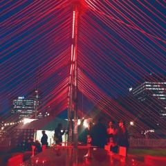Lucesco Lights up Tremma Display